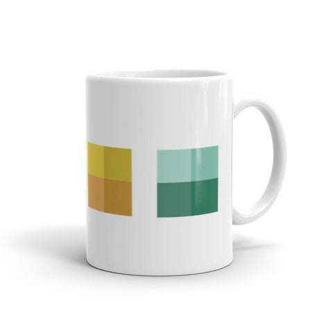 Color Block Mug - Mason Coffee