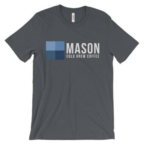 Mason T-Shirt (White Print) - Mason Coffee