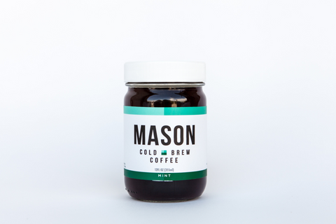 Mint Cold Brew<br />12 Jars - Mason Coffee