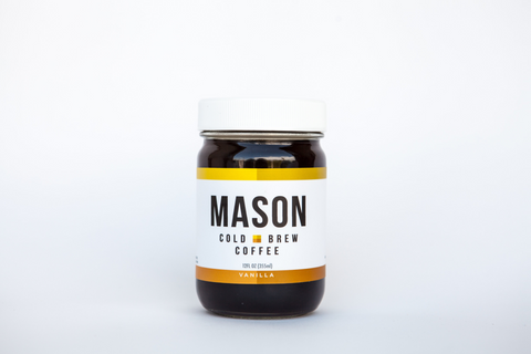 Vanilla Cold Brew<br />12 Jars - Mason Coffee