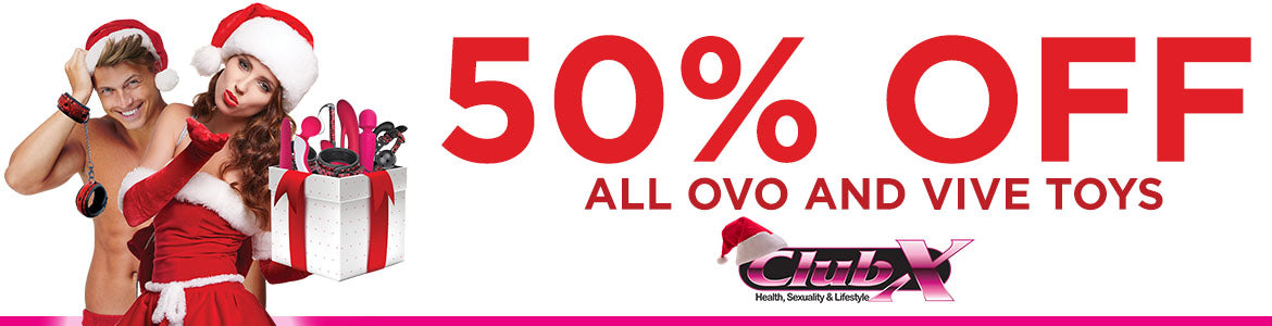 50% OFF ovo and vive toys