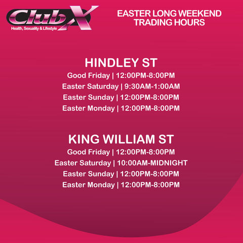 South Australia Easter Trading Hours