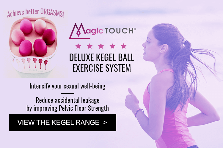 Magic touch Kegel Ball. View the Kegel Range