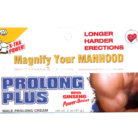 Prolong Plus Erection Cream