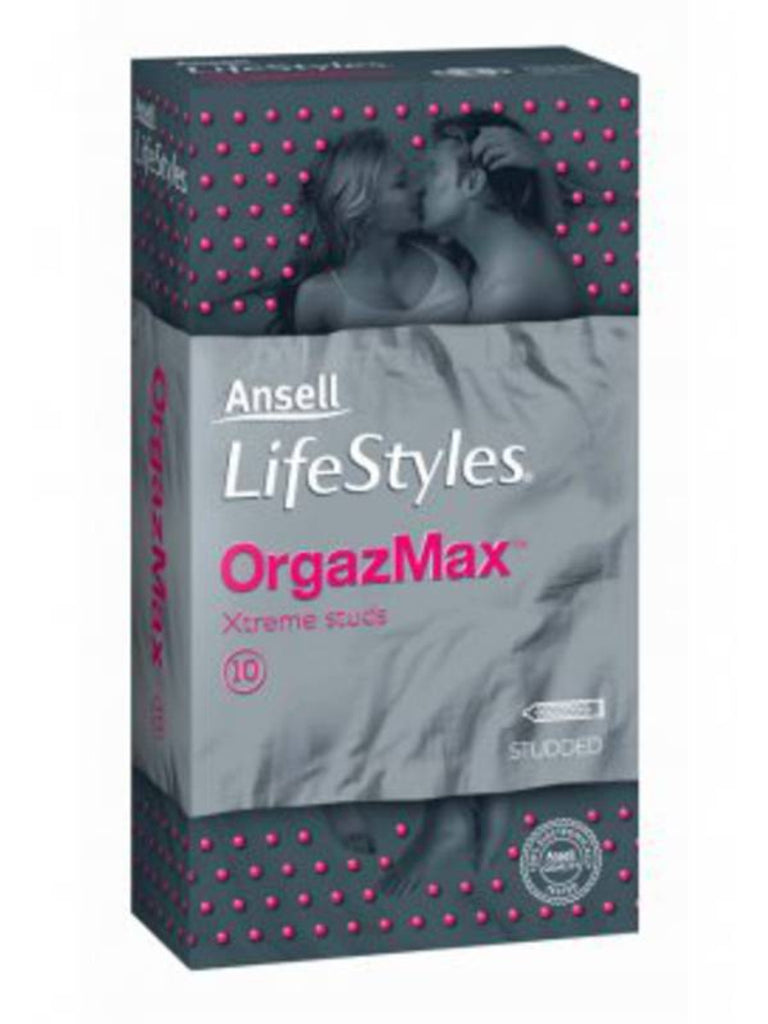 Ansell OrgazMax Condoms 10 pack