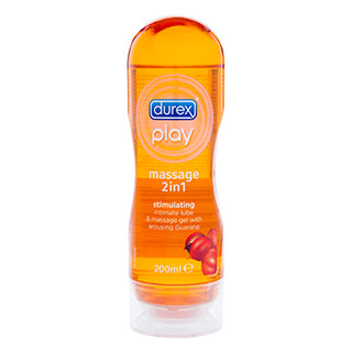 Durex 2 in 1 Lubricant & Massage Oil