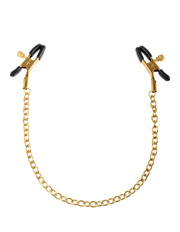 Fetish Fantasy - Gold Chain Nipple Clamps