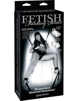 Fetish Fantasy - Wraparound Mattress Restraints  - Club X