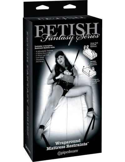 Fetish Fantasy - Wraparound Mattress Restraints
