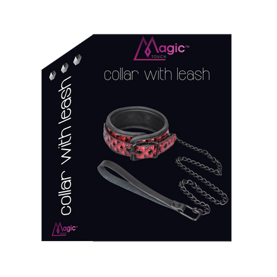 Magic Touch Collar with Leash  - Club X