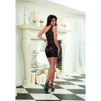 Assymetrical Chemise & Thong