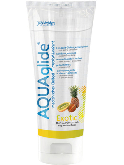 AQUAglide Flavoured Lubricant 100ml Exotic - Club X