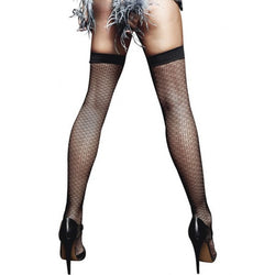 Jacquard Thigh Highs  - Club X