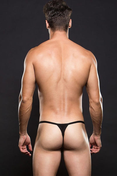 ENVY Black Magnetic Clasp Breakaway G-String