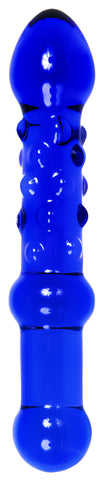 Beaded Sensations Glass Dildo