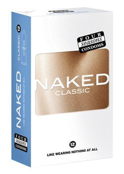 Four Seasons Naked Classic Condoms 12 pack