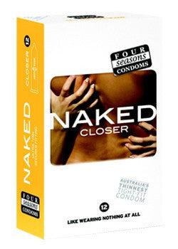 Four Seasons Naked Closer Condoms  - Club X