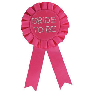 Bride to be Rosette 58mm  - Club X