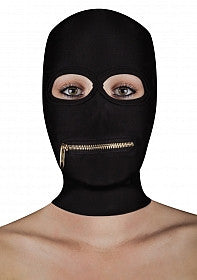 Extreme Zipper Mask with Mouth Zip  - Club X