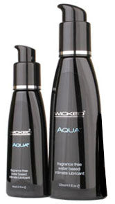 Wicked Aqua Unscented Lubricant  - Club X