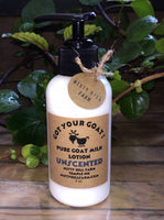 """Got Your Goat"" Pure Goat Milk Lotion"