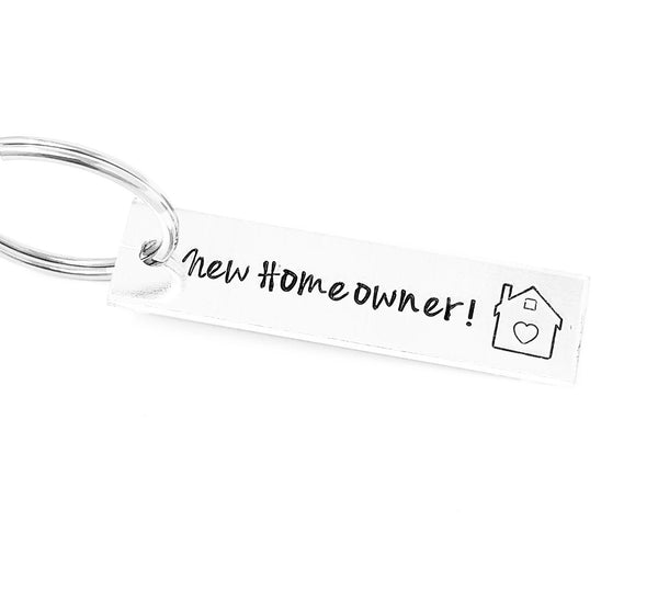 New Homeowner Keychain