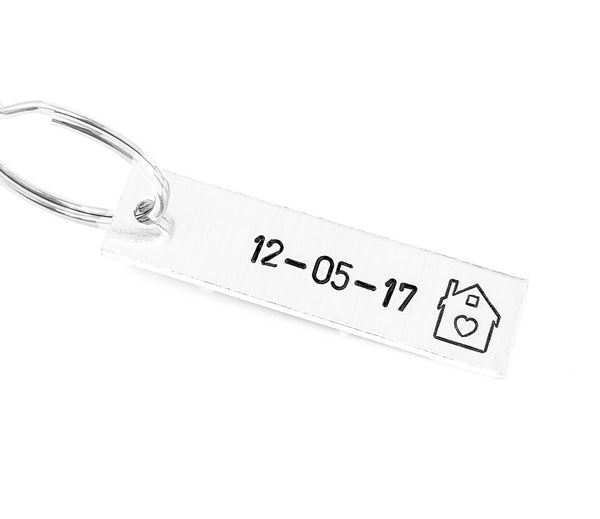 Date House Keychain