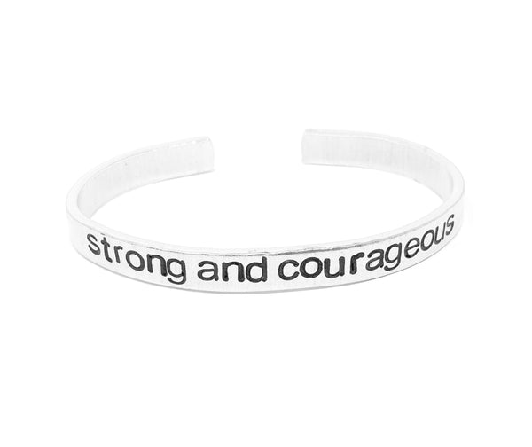 Strong and Courageous Bracelet