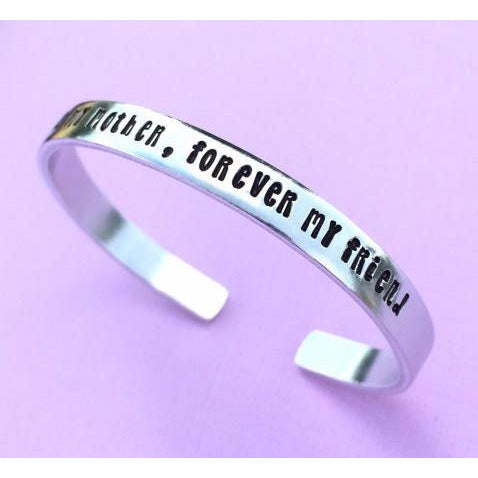 Always My Mother Forever My Friend Personalized Bracelet Gift Mother's Day