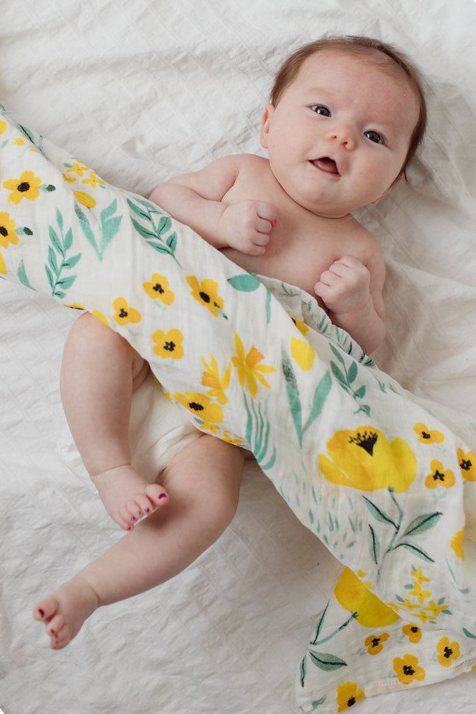 Buttercup Blossom Swaddle - Tnee's