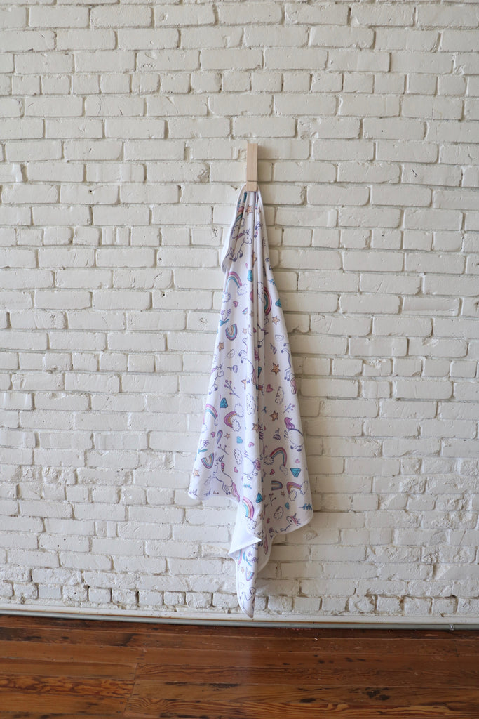 READY TO SHIP Organic cotton blanket
