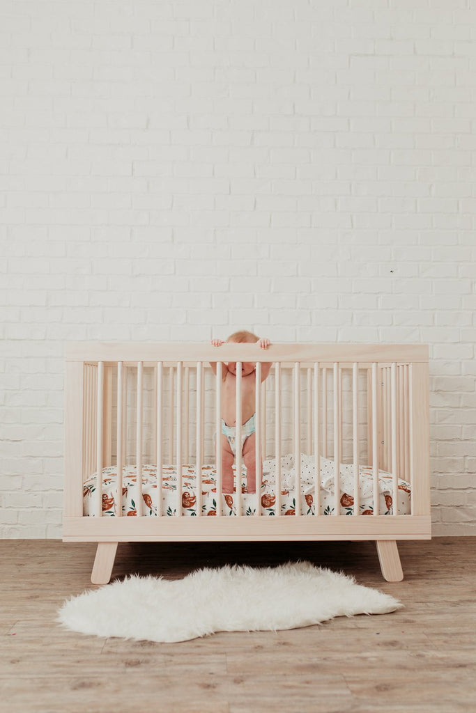 Slow Living Crib Sheet - Tnee's