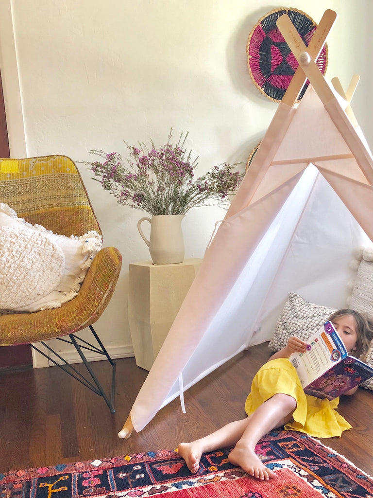 all natural Tnee's A-frame tent
