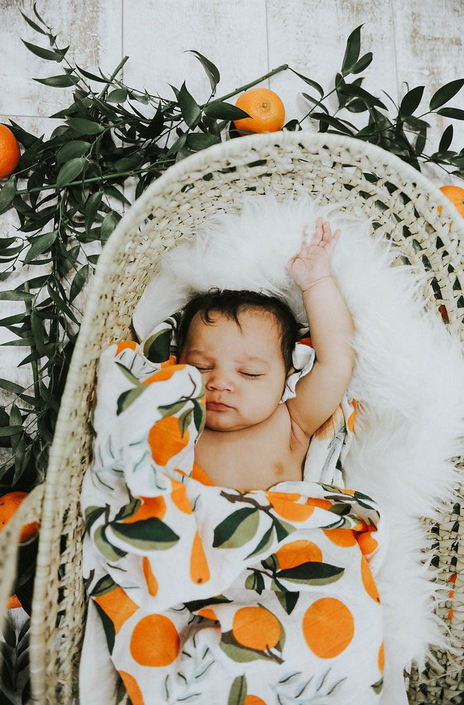 CLEMENTINE SWADDLE, swaddle - Tnee's