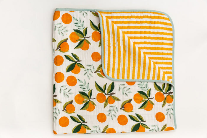 CLEMENTINE REVERSIBLE QUILT - Tnee's