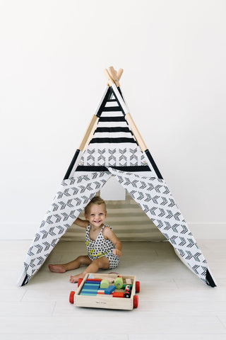 the herringbone teepee