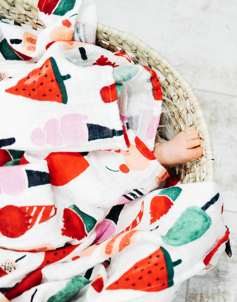 ICE CREAM SWADDLE, swaddle - Tnee's