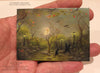 "(SOLD) ""Chatter Park."" Original Miniature Landscape Painting By Philippe A. Fernandez."