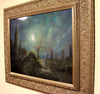"""Found Happiness"" Framed 20"" x 16"" Original Acrylic Painting By Fairy Tale Fantasy Landscape Artist Philippe Fernandez 4"