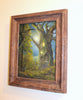 """Enchanted Abode"" 8"" x 6"" Original Tree House Painting By Philippe A. Fernandez."