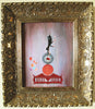 """Juggling Act"" Framed 8"" x 10"" Original Acrylic Painting By Fairy Tale Fantasy Landscape Artist Philippe Fernandez 3"