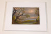 """Silver Lake"" Original Miniature Landscape Painting By Philippe A. Fernandez."
