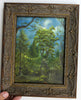 "(SOLD) ""The Tree House"" 6"" x 8"" Original Landscape Painting By Philippe A. Fernandez."