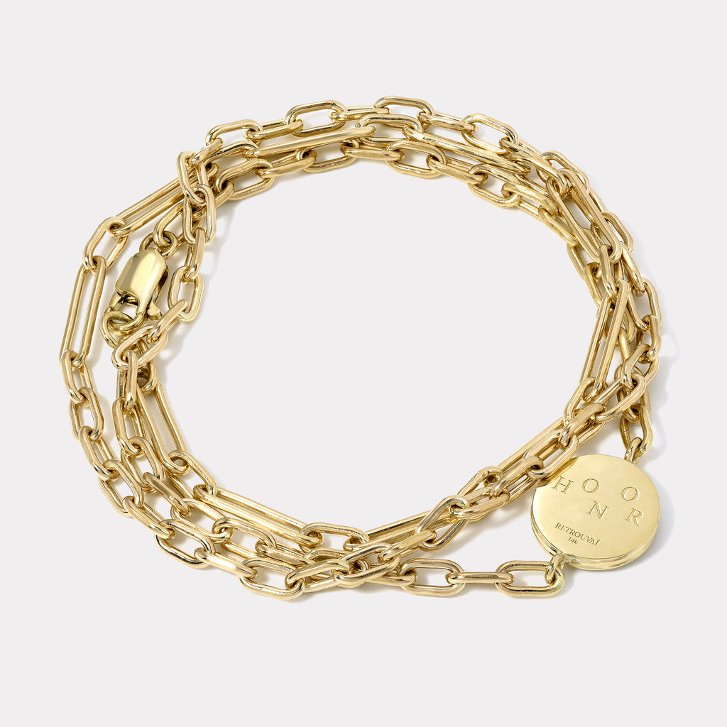 Honor Triple Wrap Bracelet