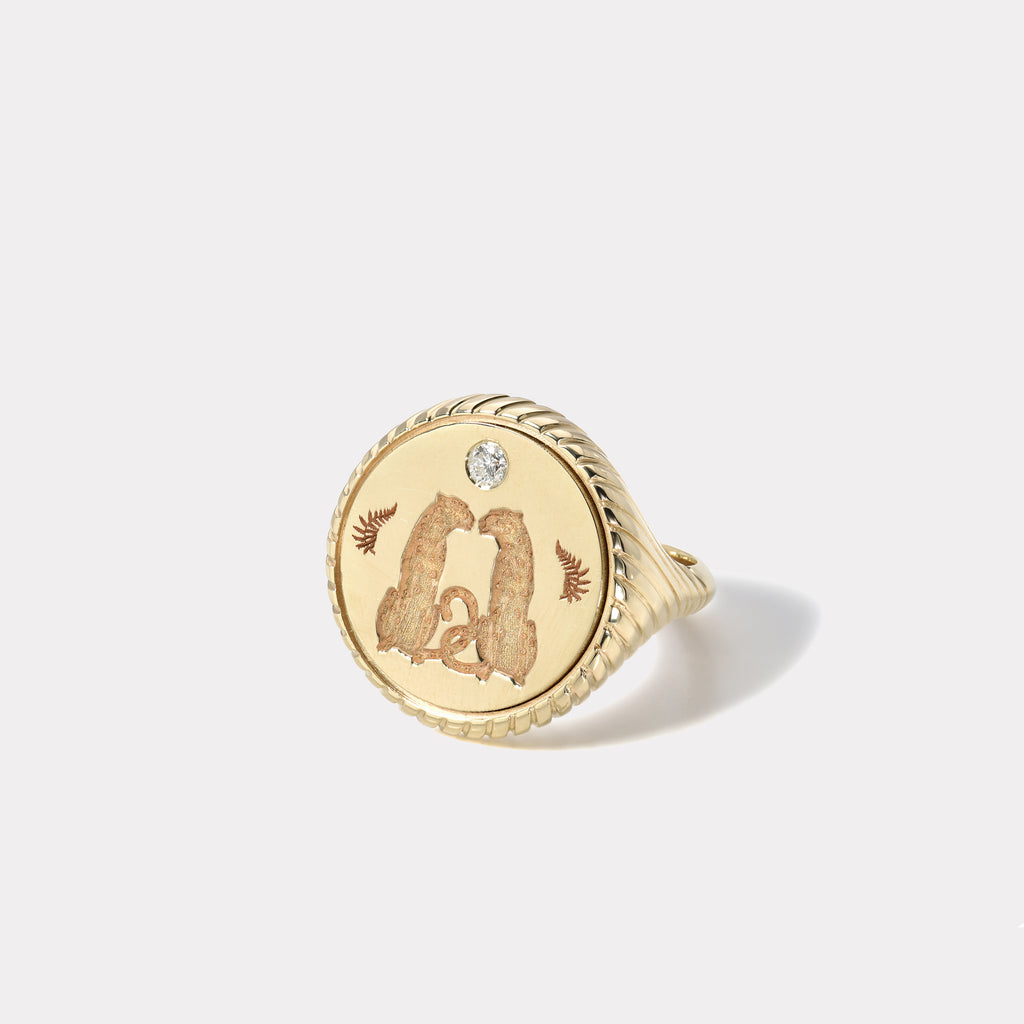 Love Signet Ring