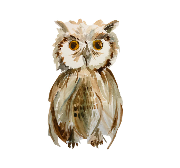 Tiered Fantasy Signet - Wise Owl