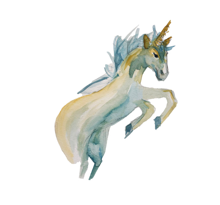 Tiered Fantasy Signet - Unicorn