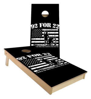 92 for 22 Cornhole Boards