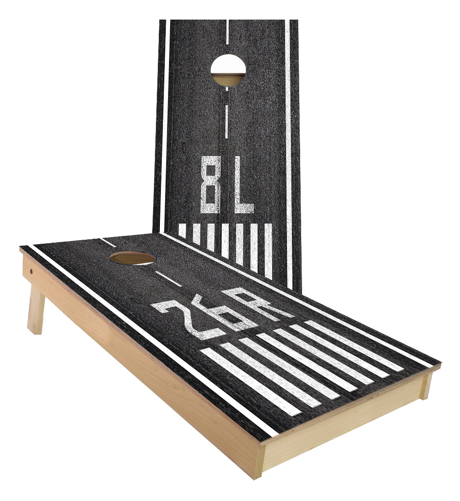 Airport Runway Cornhole Boards (Enter your runway numbers)