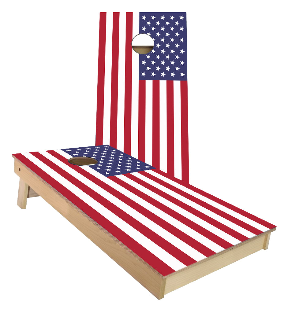 Flag of the United States of America Cornhole Boards